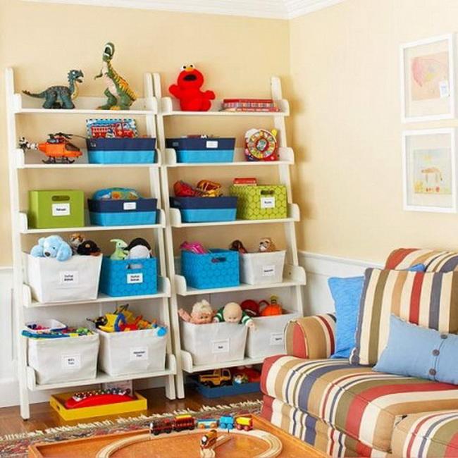 Идеи хранения игрушек в детской комнате своими руками