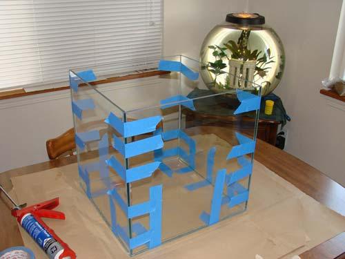 Как сделать аквариум своими руками мастер класс 87