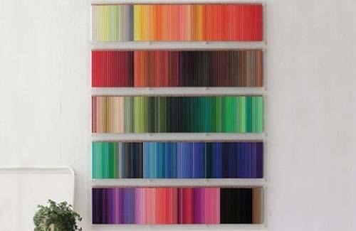 Стены в цветных карандашах