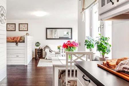 Маленькая квартира с идеальным интерьером
